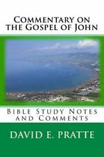 Commentary on the Gospel of John : Bible Study Notes and Comments by David...