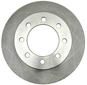 Disc Brake Rotor-Non-Coated Front ACDelco Advantage 18A1482A