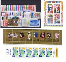 TIMBRES FRANCE NEUFS ANNEE COMPLETE LUXE 1990