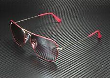 RAY BAN RB3136 9155AI Caravan Silver Matte Brd Purple Mirror Grey 58 Sunglasses