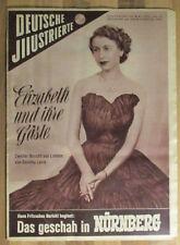 Deutsche Illustrierte #22 vom 30.05.1953 Queen Elizabeth II. Ingeborg Körner rar