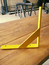 Metal shelf brackets (Retro/modern look) (Handmade) 20cm £9.99 per bracket