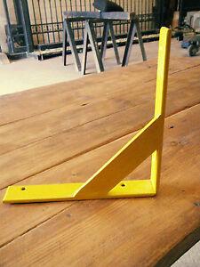 Metal shelf brackets (Retro/modern look) (Handmade) 20cm £9.99 per bracket