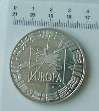 monnaie medaille écu europa euro parité 1 er janvier 1999