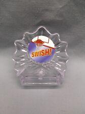 clear acrylic Basketball trophy award full color insert swish