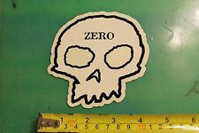 ZERO Skateboards Skull Logo Jamie Thomas Vintage Skateboarding Decal STICKER