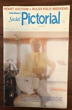 Palm Beach Social Pictorial, March 22,1982 Autographed By MARY HARTLINE DONAHUE