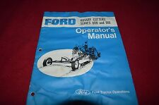 Ford Tractor 909 910 Rotary Cutter Bush Hog Operator's Manual CHPA