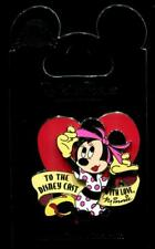 Cast Exclusive Pin-Up To Cast With Love Minnie Mouse Disney Pin 112776