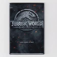 "JURASSIC WORLD 2 : FALLEN KINGDOM / LOGO TEASER - 2""x3"" MOVIE POSTER MAGNET"