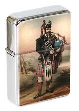 Scottish Bagpiper Flip Top Lighter