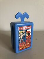 Ralston Cereal Bill & Ted's Excellent Plastic Telephone Box