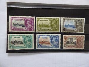 Commonwealth 1935 S Jubilee odd values m/mint