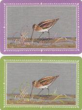 #122 2 (pair) single vintage single playing swap cards -  Barribal Birds - JS