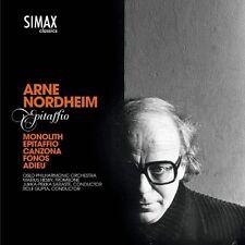 rne Nordheim - Arne Nordheim Epitaffio [CD]