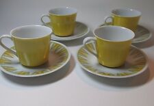 "Vintage Retro 1960s RC Japan-Vera 4354 ""-Coffee Cup Set Japan Mid Century Modern"