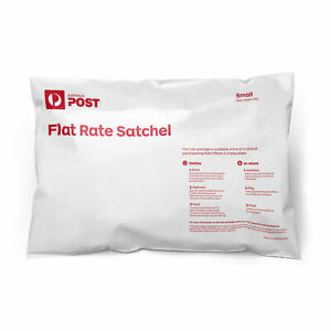 Australia Post Flat Rate Satchel Small (10 bag pk) - excludes postage