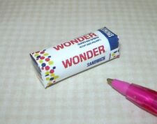 "Miniature ""Squooshy"" Wonder Bread Loaf for DOLLHOUSE 1:12 Scale Miniatures"