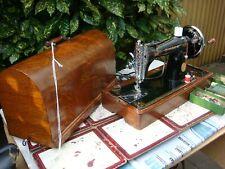 Antique Old Vintage Hand Crank  Singer sewing machine Model  15K80 K See Video