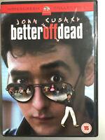 Better Off Dead DVD 1985 Cult Teen / High School Comedy Classic w / John Cusack