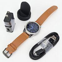 Samsung Gear S3 Classic SM-R770 Wi-fi Bluetooth Smart Watch w/ NEW Band  Read