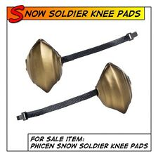Phicen Snow Soldier Hot Knee Pad Set for 1/6 12 in scale Female Toys
