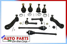 NEW 4 BALL JOINTS 4 TIE RODS PITMAN ARM & IDLER ARM SILVERADO TAHOE SIERRA YUKON