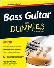 Bass Guitar For Dummies, Book + Online Video & Audio Instruction