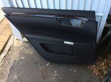 08 MERCEDES S550 S63 W221 DRIVER LEFT REAR DOOR TRIM PANEL OEM S600 S65 BLACK