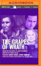 The Grapes of Wrath by John Steinbeck (2016, MP3 CD, Unabridged)
