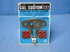 Rare! Vintage Original 1970 NOS Cal Custom Chrome Spark Plug Wire Looms 40-70-2