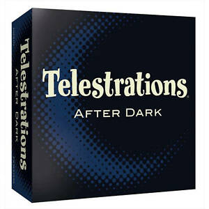 Telestration After Dark Adult Party Fun Drawing Game 4 to 8 Players College Game