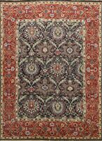 Floral Traditional Hand-knotted Oriental Area Rug Dining Room Wool Carpet 8x9