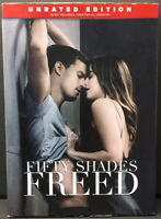 Fifty Shades Freed DVD Dakota Johnson Jamie Dornan Brand New Sealed Unrated