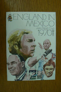 1970 MEXICO WORLD CUP , F.A. TOUR GUIDE