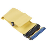 40 Pins 80 Wire PATA/EIDE/IDE Hard Drive DVD Ribbon Cable Yellow 40cmBB