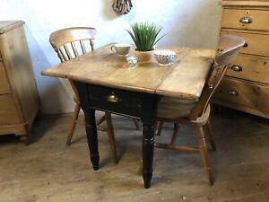 Fabulous Old  Pine Farmhouse  Drop Leaf Pembroke Table