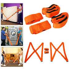 Lifting Moving Straps Harnesses Furniture Cargo Movers Aid Shoulder Heavy Duty