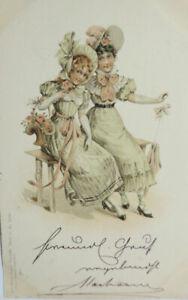 """""""Neujahr, Frauen, Mode, Hut"""" 1901 ♥"""