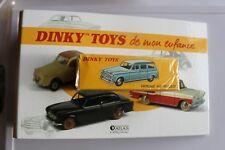 dinky toys par atlas.PEUGEOT 403 familiale.Ref 24F.ROUGE.+ classeur.