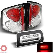 Fits 94-04 S10 Sonoma / 96-00 Hombre Tail Lights + Full LED 3rd Brake Light