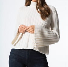 Carbon38 The Cashmere Sweater in Pure White Size Small S