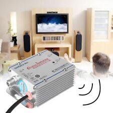 2 Way CATV VCR TV Antenna Signal Amplifier 220V 45-860MHz Booster Splitter