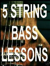 5 String Bass Guitar Lessons Learn DVD Video. Convert Smoothly. DON'T OVER DO IT