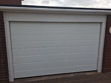 M RIB SECTIONAL GARAGE DOOR FREE COLOUR CHOICE FREE ELECTRIC INSULATED SEALED