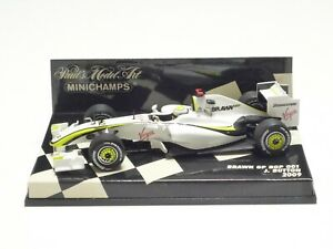 MINICHAMPS 1:43 BRAWN GP BGP 001 J. BUTTON 2009