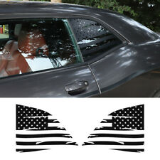 US Flag Car Rear Window Decor Sticker Decal Accessories for Dodge Challenger 08+