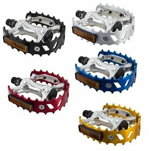 SE RACING BEAR TRAP PEDALS 9/16 in 5 Different Colors Sold in Pairs
