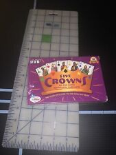 Set Enterprises Five Crowns Five Suited Rummy Style Card Game New Sealed