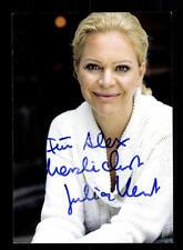 Julia klemt autografiada mapa original firmado # bc 101471